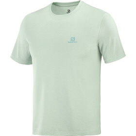 Salomon Explr SS Tee Men, harbor gray/opal blue/heather